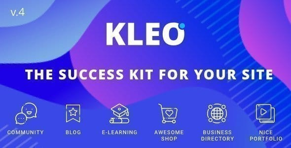 KLEO – BuddyPress & MultiPurpose WordPress Theme