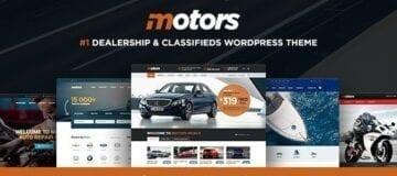 Motors – Car Dealer, Rental & Classifieds WordPress theme