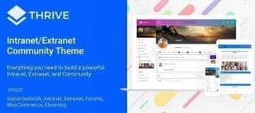 Thrive – Intranet, Extranet, Community WordPress Theme
