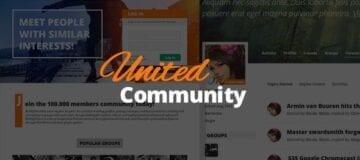 UnitedCommunity – BuddyPress Membership Theme