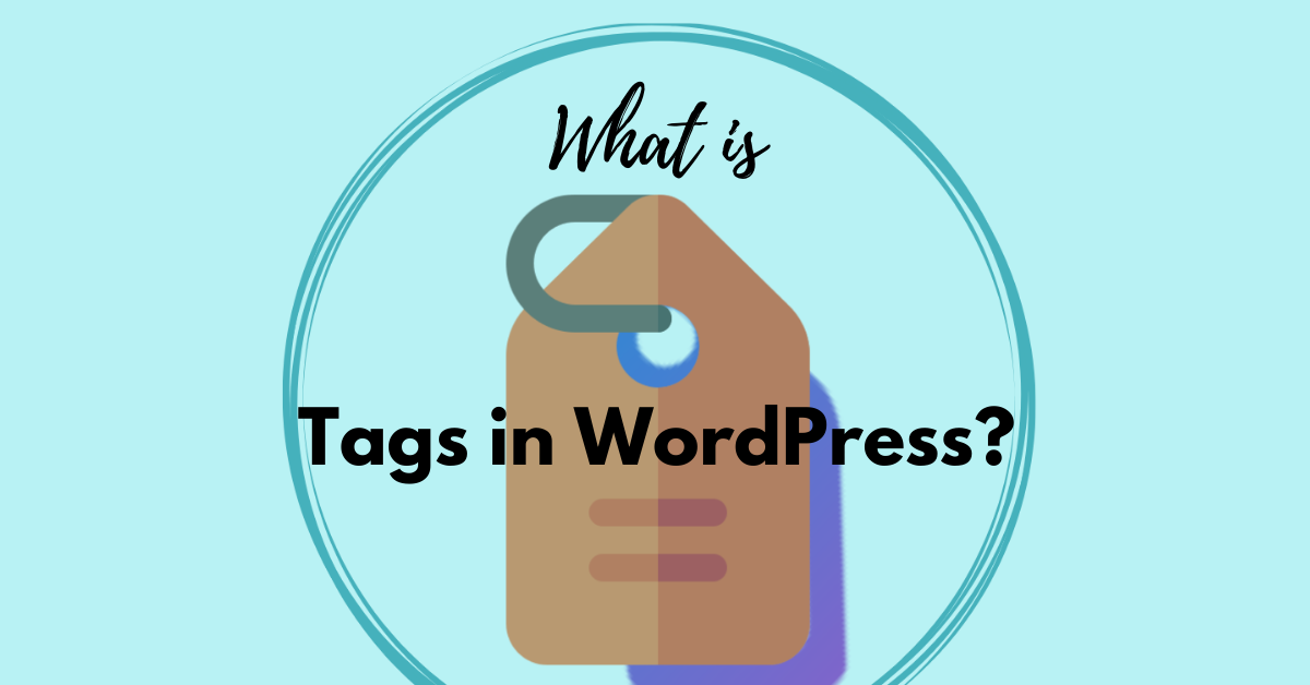 Tags in WordPress Feature Image
