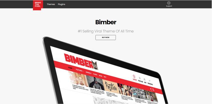 Bimber Theme Image